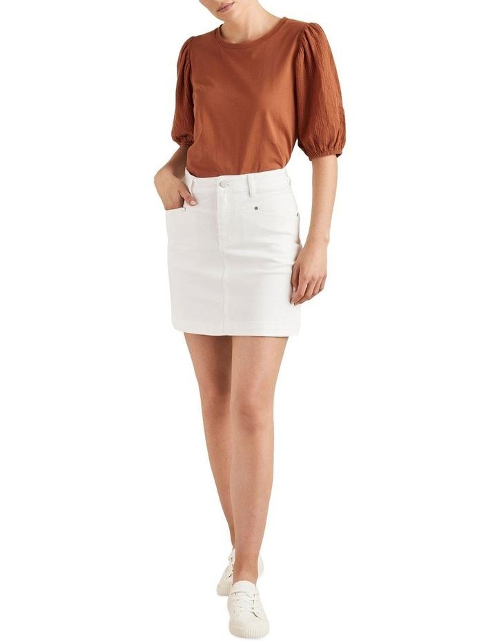 Denim Mini Skirt image 2