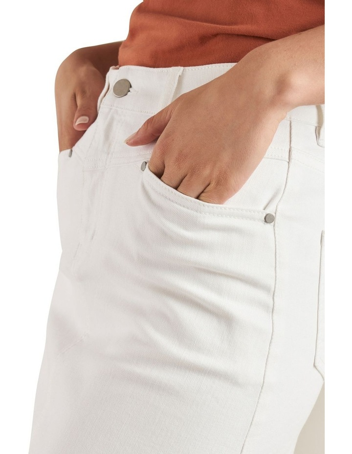 Denim Mini Skirt image 4