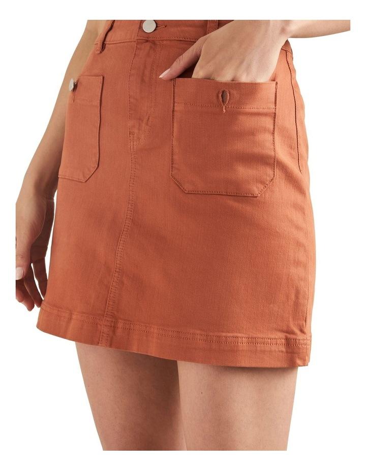 Stitch Detail Mini Skirt image 4