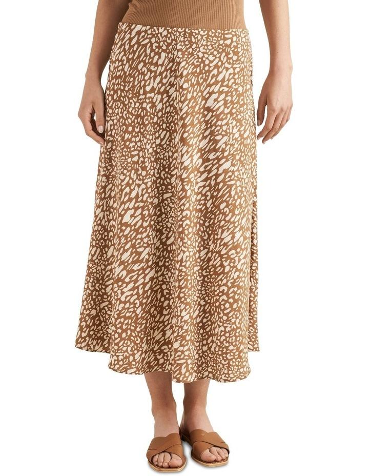 Animal Midi Skirt image 1
