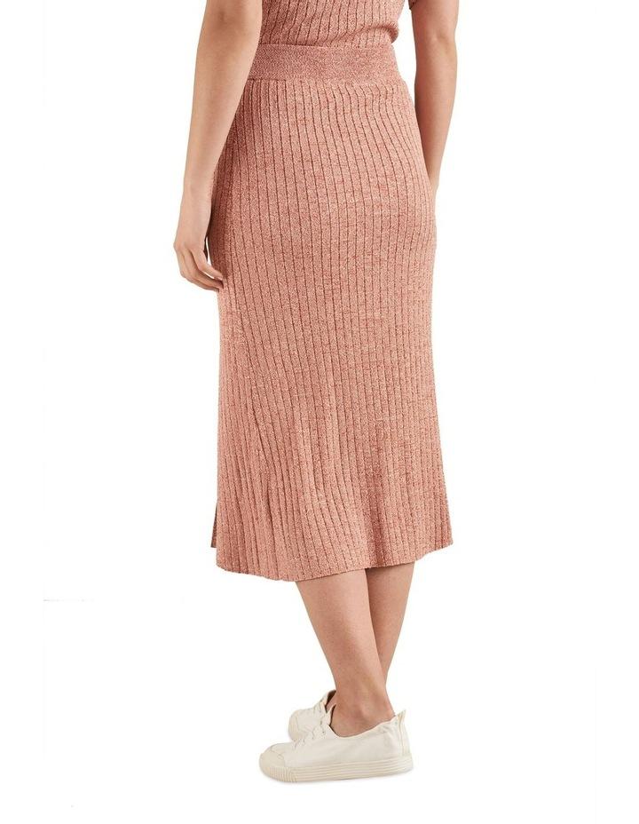 Space Dye Knit Skirt image 1