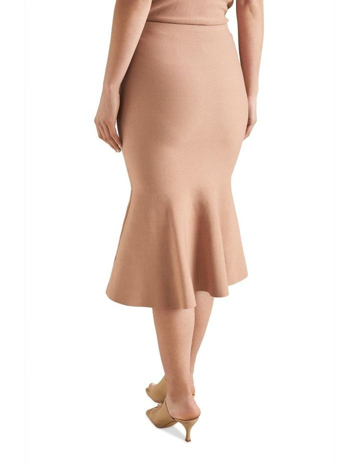 Flutted Crepe Knit Skirt image 2