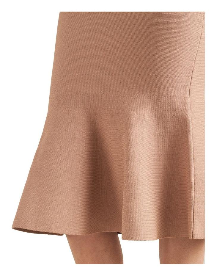 Flutted Crepe Knit Skirt image 3