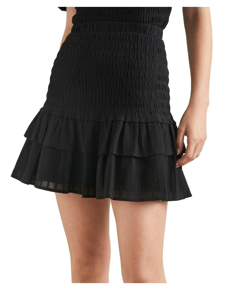 Shirred Mini Skirt image 1
