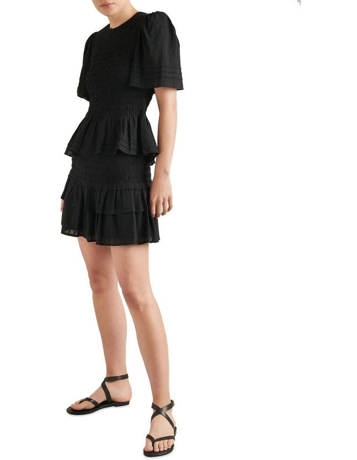 Shirred Mini Skirt image 2