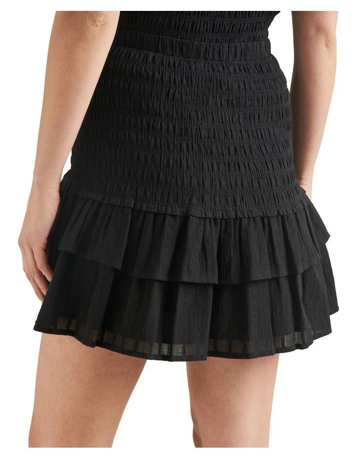 Shirred Mini Skirt image 3