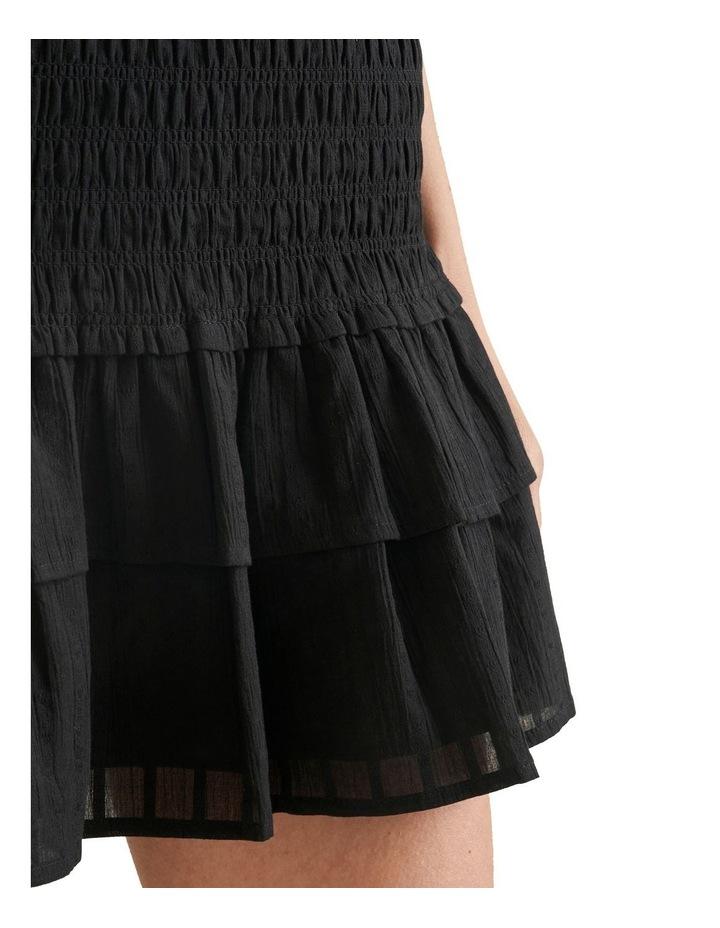 Shirred Mini Skirt image 4