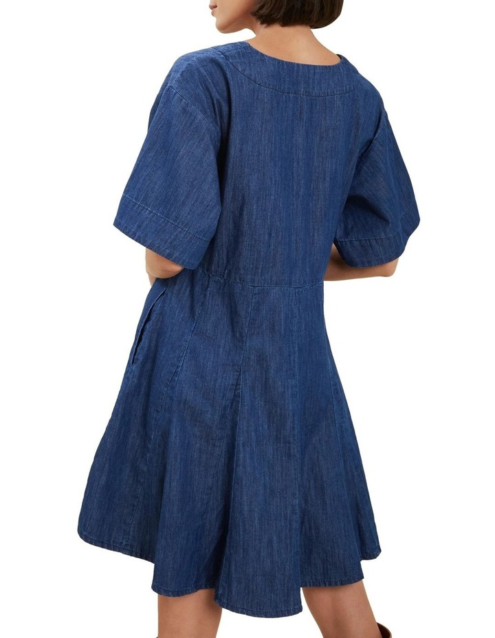 Chambray Mini Dress image 3