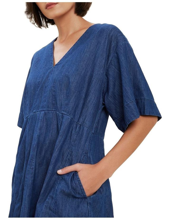 Chambray Mini Dress image 4