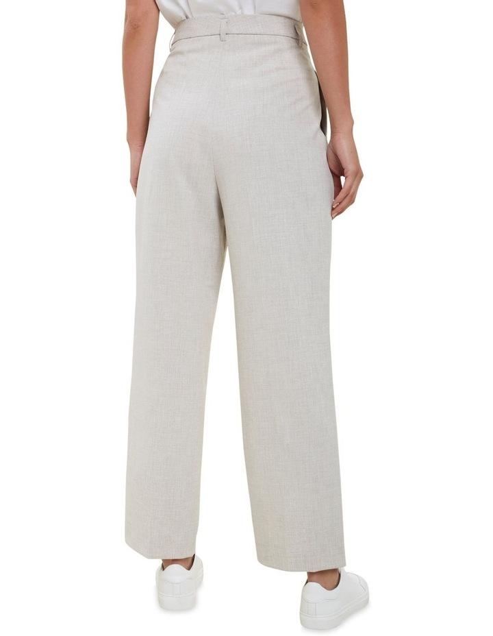 High Rise  Melange  Suit Pants image 3