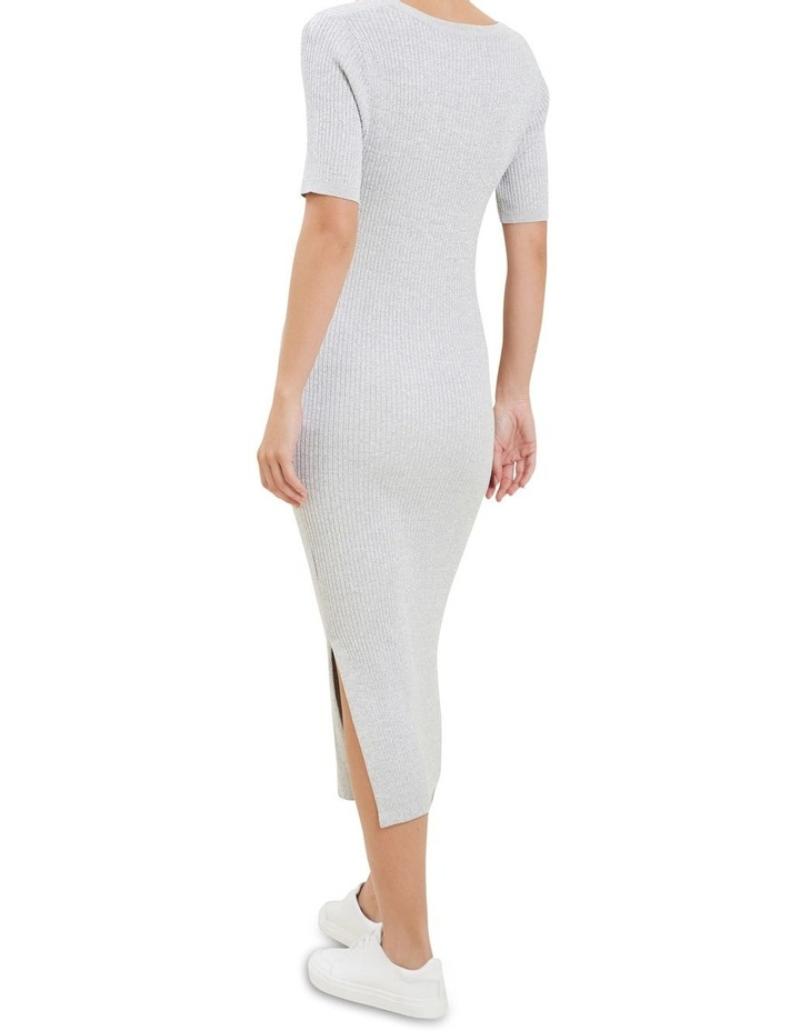 Spacedye  Rib Knit Dress image 3