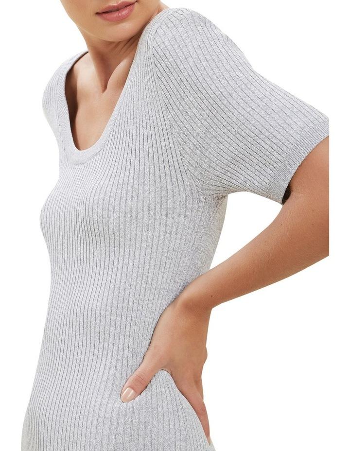 Spacedye  Rib Knit Dress image 4