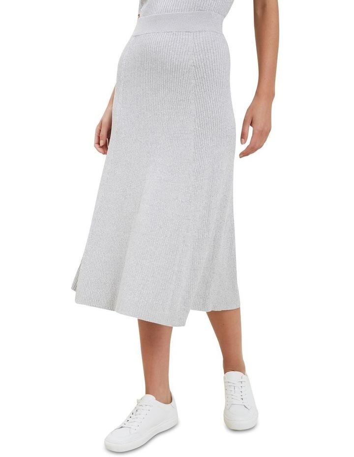 Spacedye  Rib Knit Skirt image 1