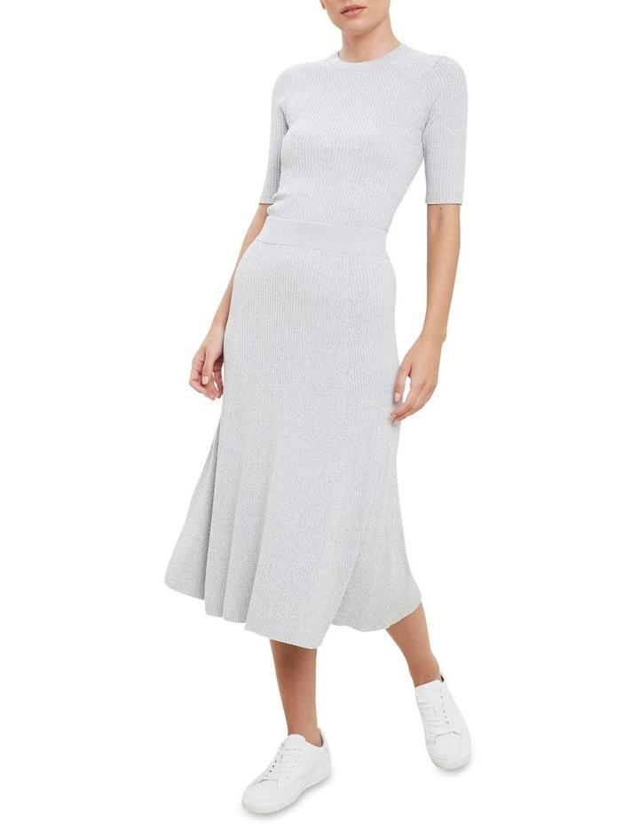 Spacedye  Rib Knit Skirt image 2