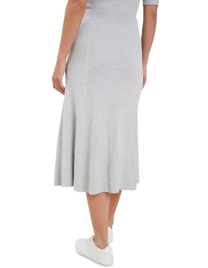 Spacedye  Rib Knit Skirt image 3