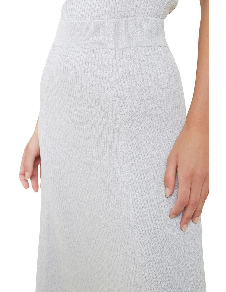 Spacedye  Rib Knit Skirt image 4