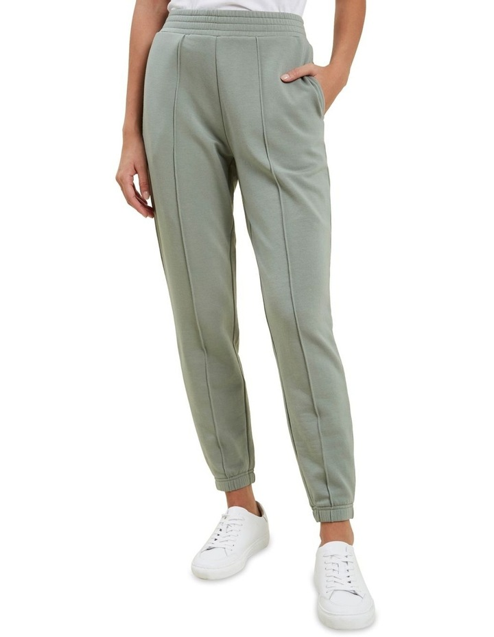 Shirred Terry Jogger image 1