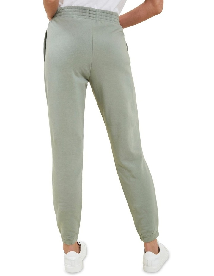 Shirred Terry Jogger image 3