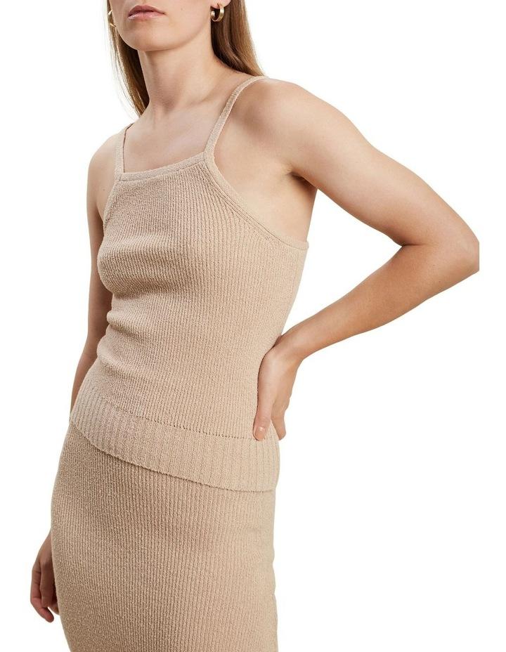 Boucle Knit Halter image 1