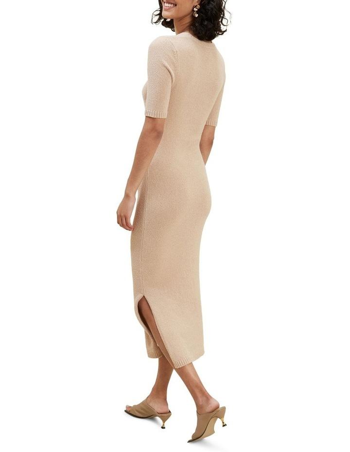 Boucle Longline Knit Dress image 3