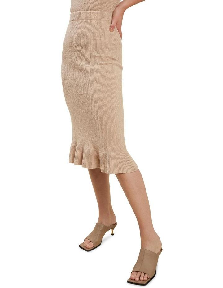 Boucle Knit Skirt image 1