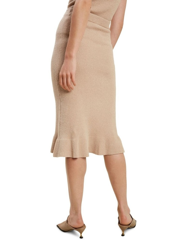 Boucle Knit Skirt image 3