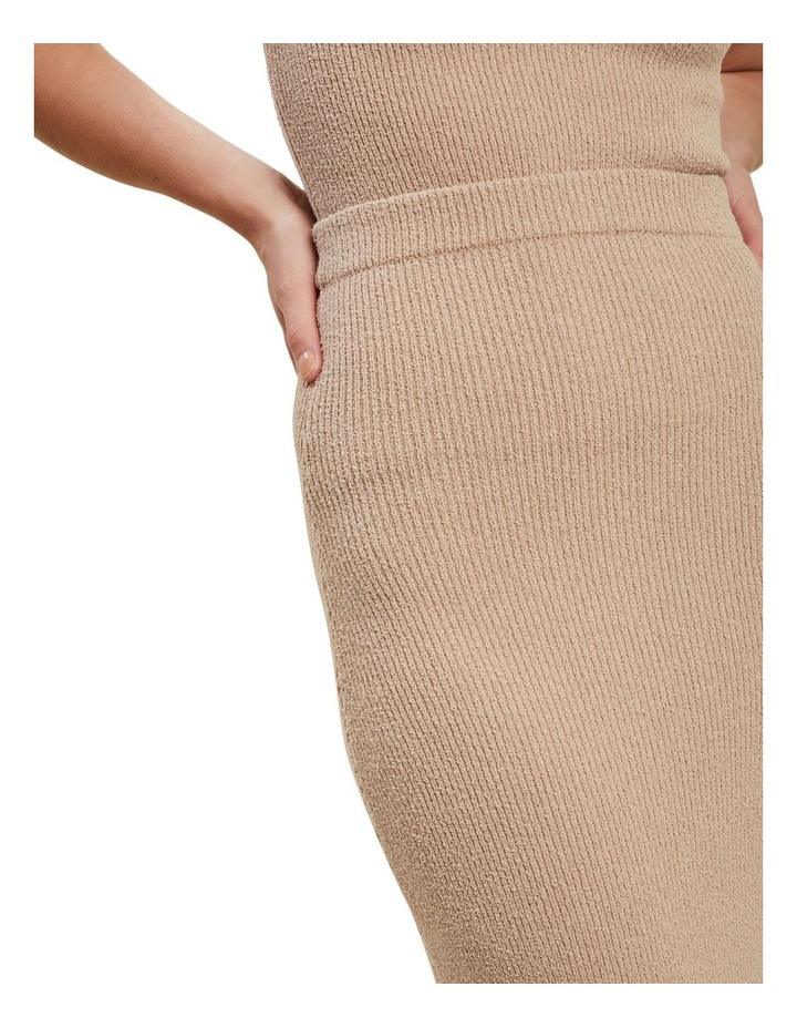 Boucle Knit Skirt image 4