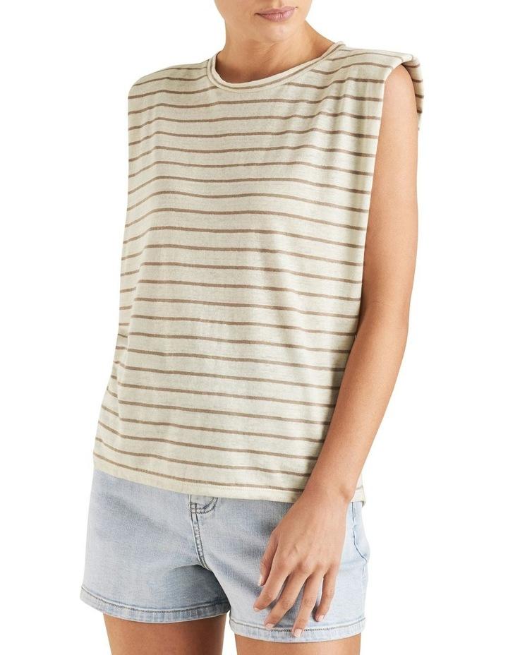 Linen Stripe Tank image 1