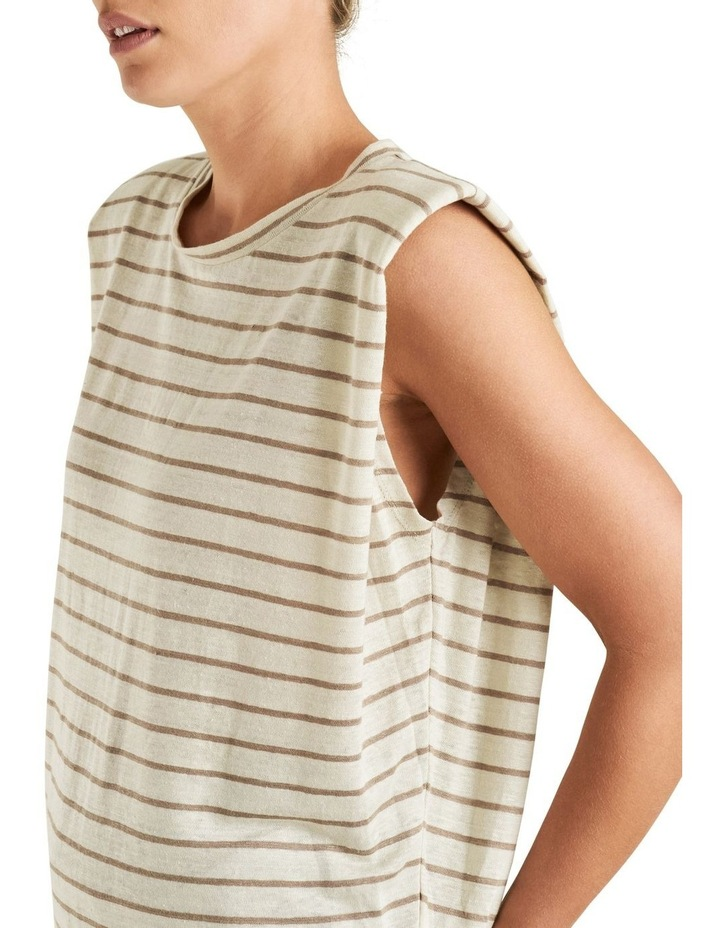 Linen Stripe Tank image 4