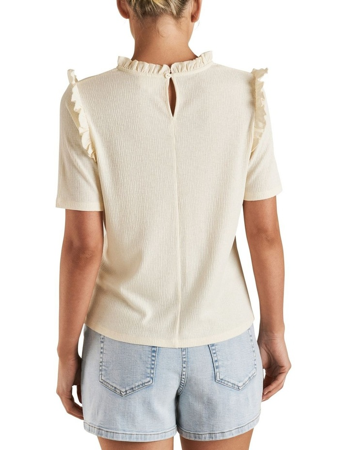 Textured Frill Tee image 3