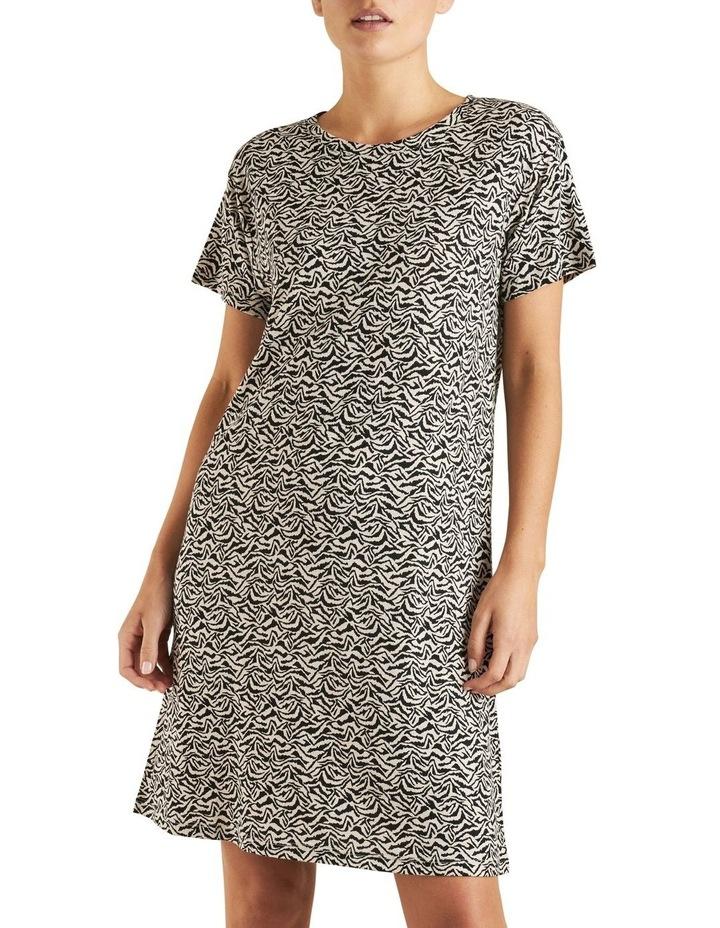 Animal Print Tee Dress image 1