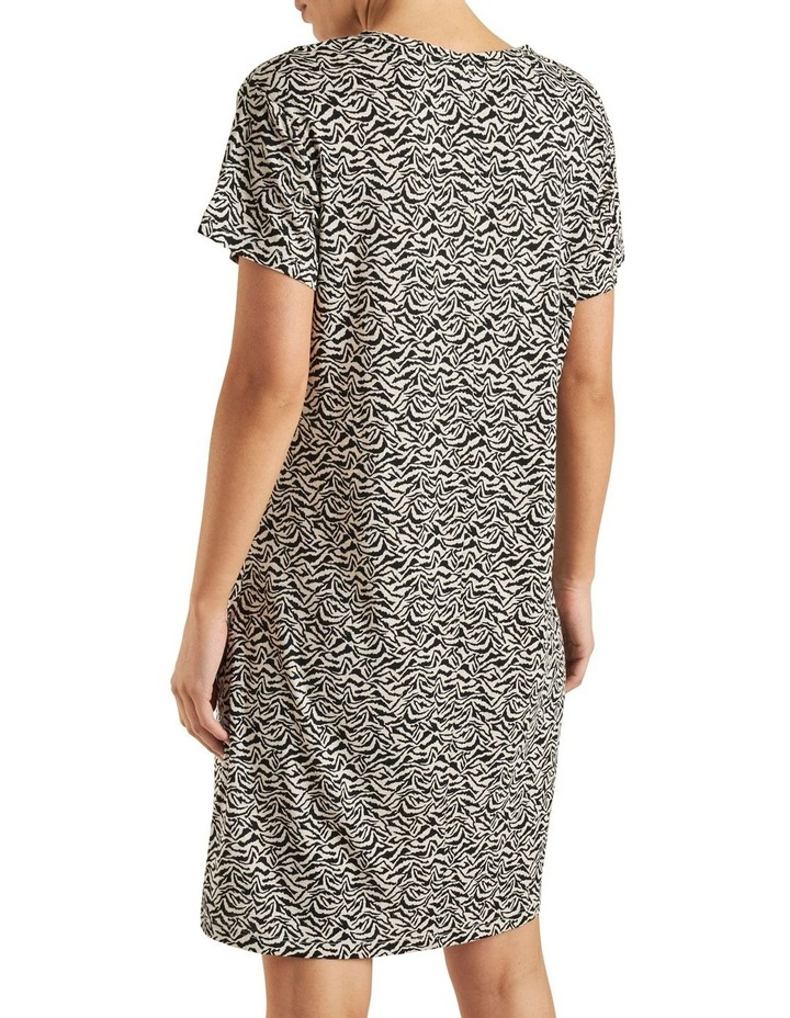 Animal Print Tee Dress image 3