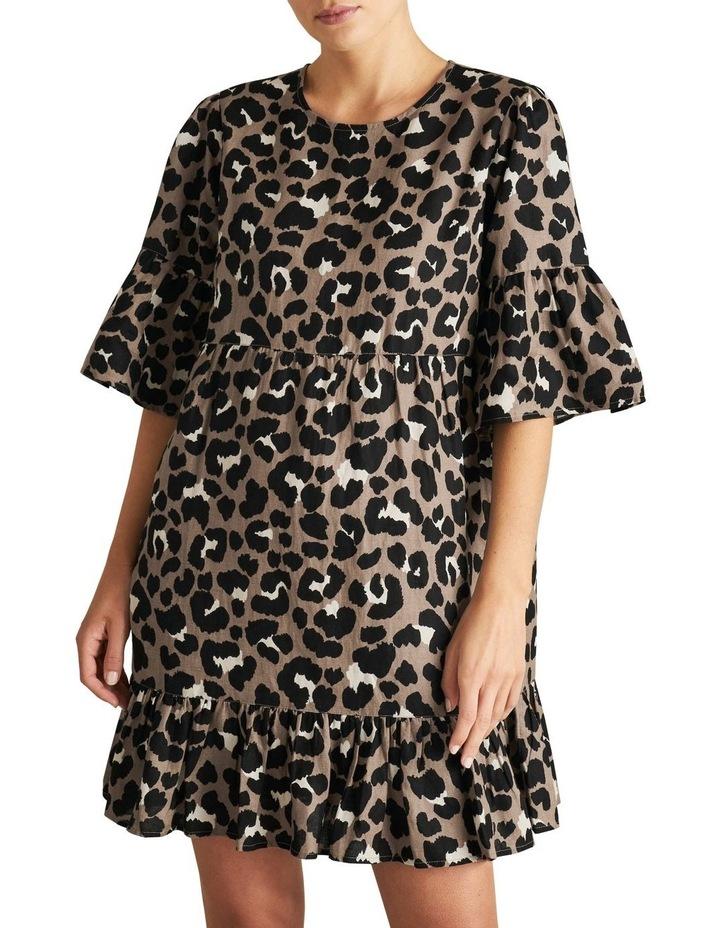 Animal Ruffle Dress image 1
