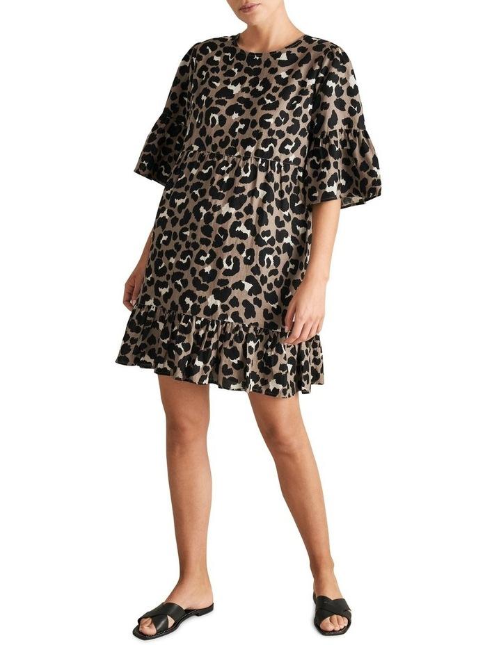 Animal Ruffle Dress image 2