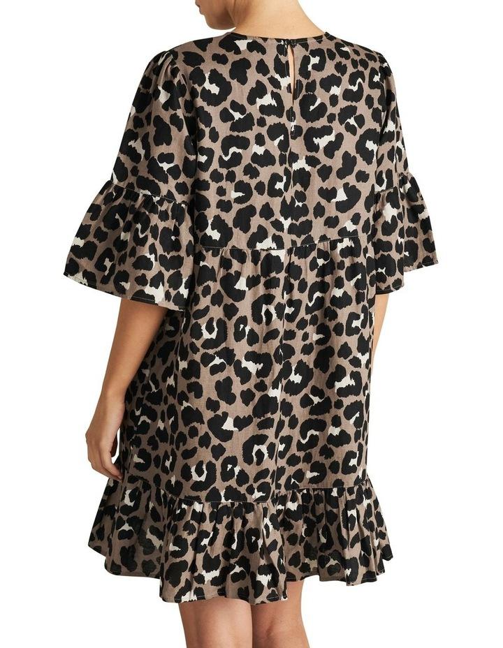 Animal Ruffle Dress image 3