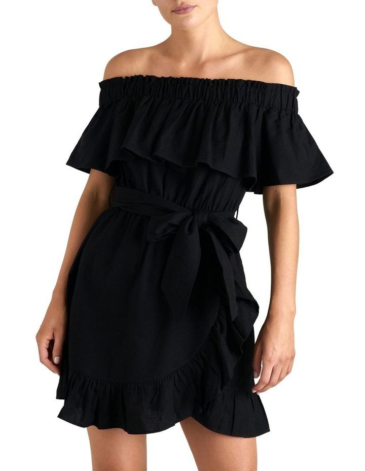 Off Shoulder Frill Dress image 1