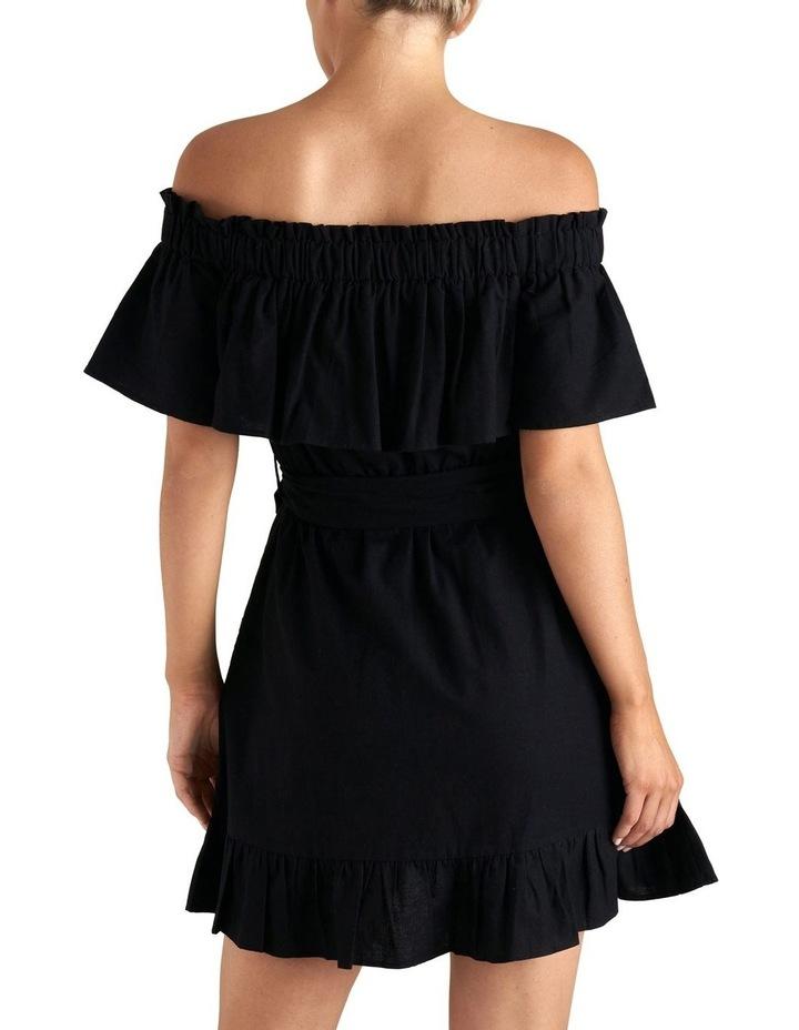 Off Shoulder Frill Dress image 3