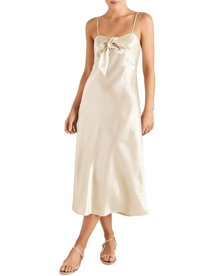Tie Front Slip Dress image 1
