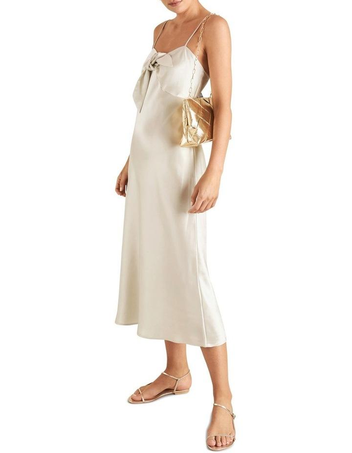 Tie Front Slip Dress image 2