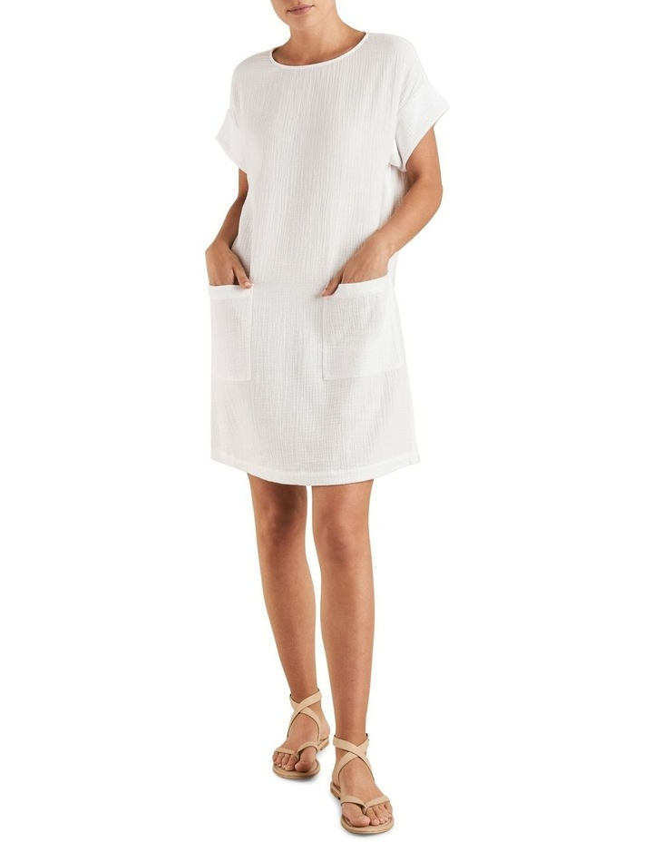 Cheesecloth Shift Dress image 2