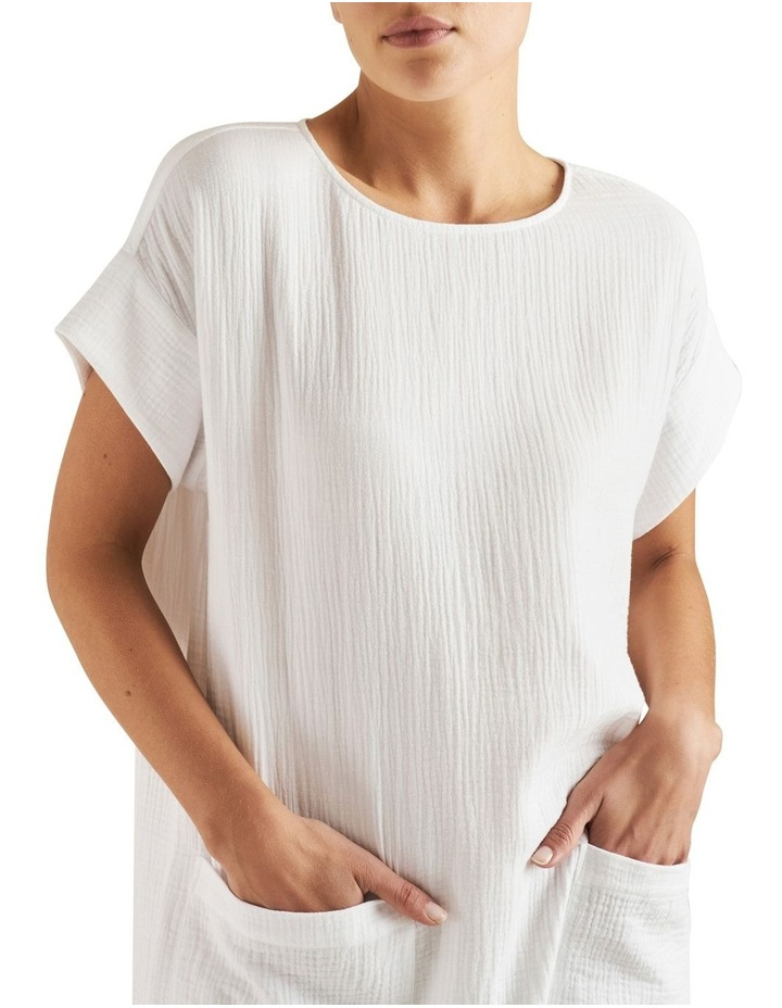 Cheesecloth Shift Dress image 4