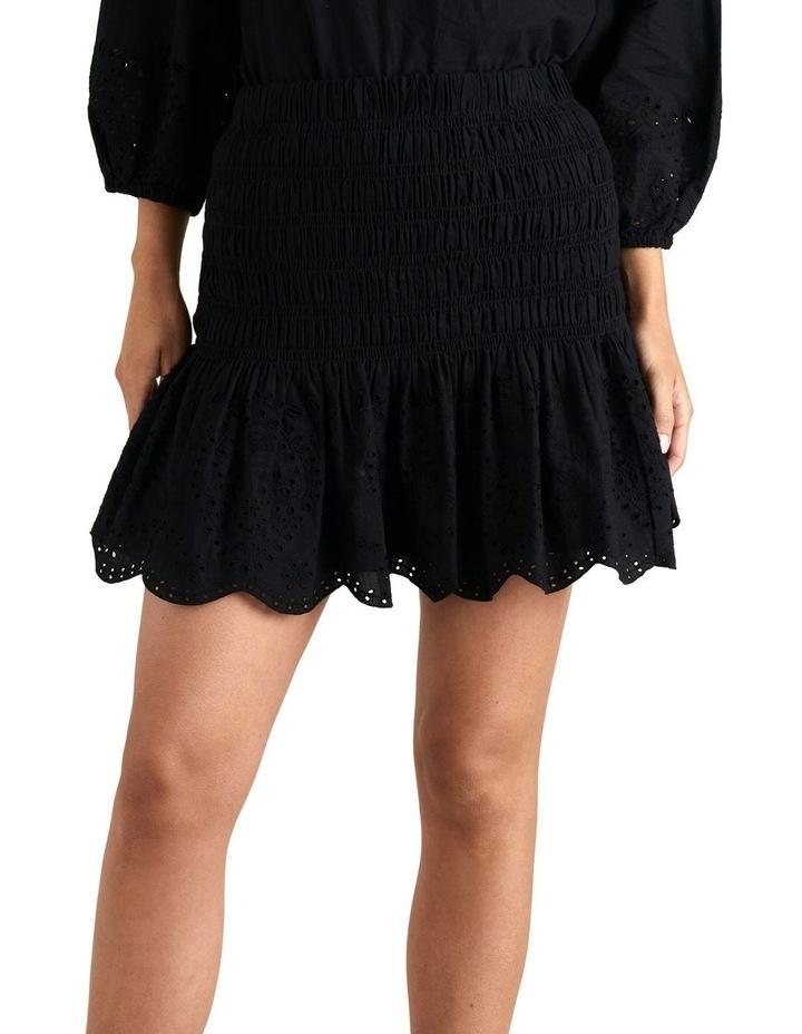 Broderie Hem Mini Skirt image 1