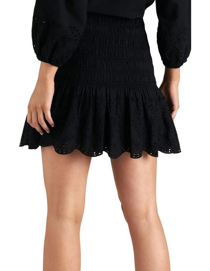 Broderie Hem Mini Skirt image 3