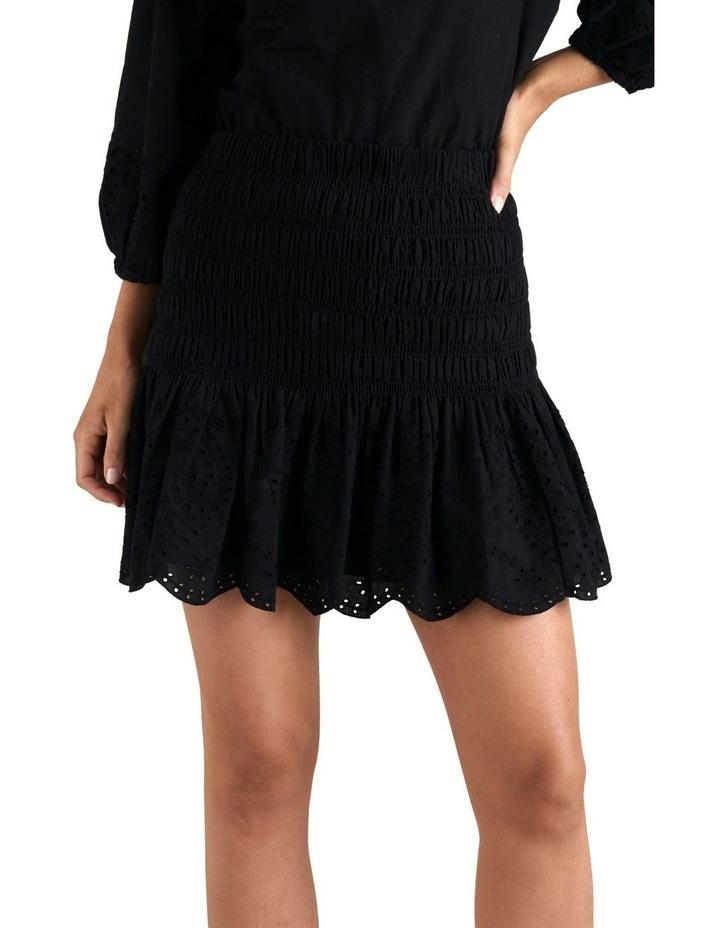Broderie Hem Mini Skirt image 4