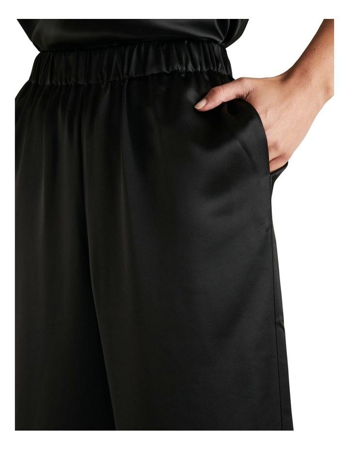 Wide Leg Satin Pant image 4