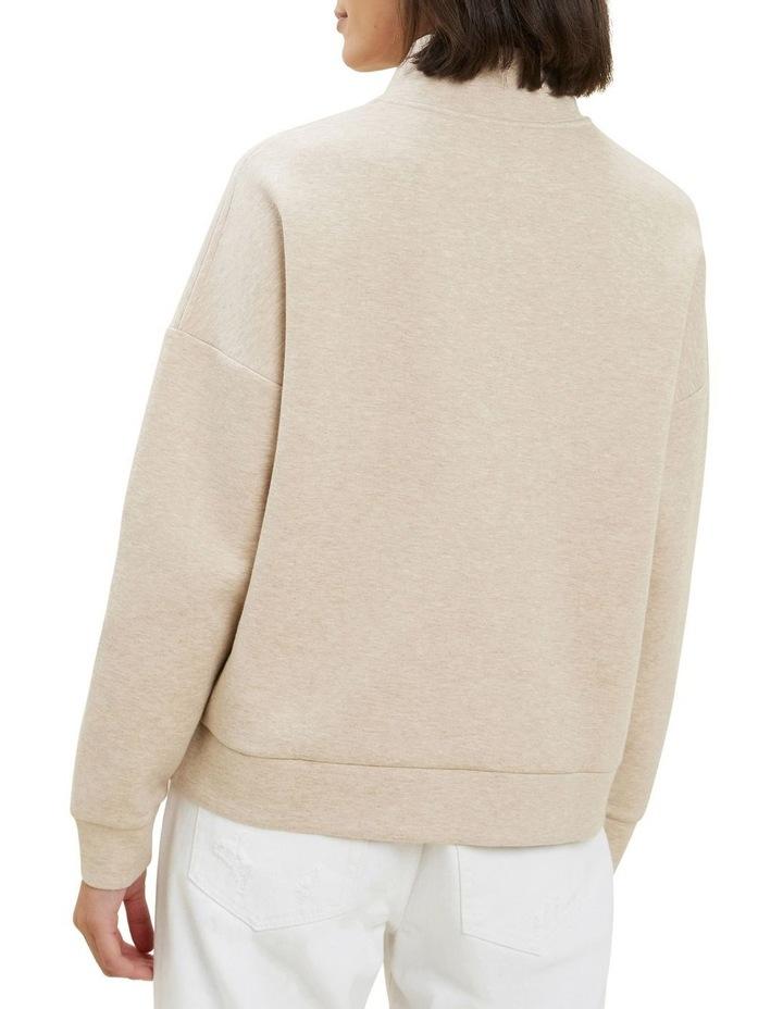 Zip Collared Sweater image 3
