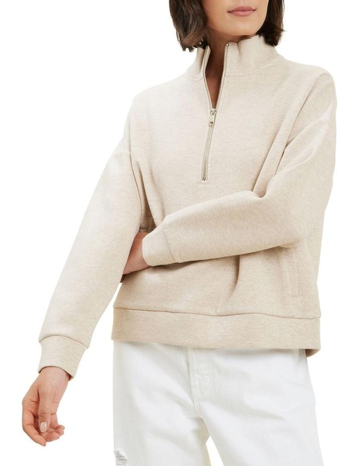 Zip Collared Sweater image 4