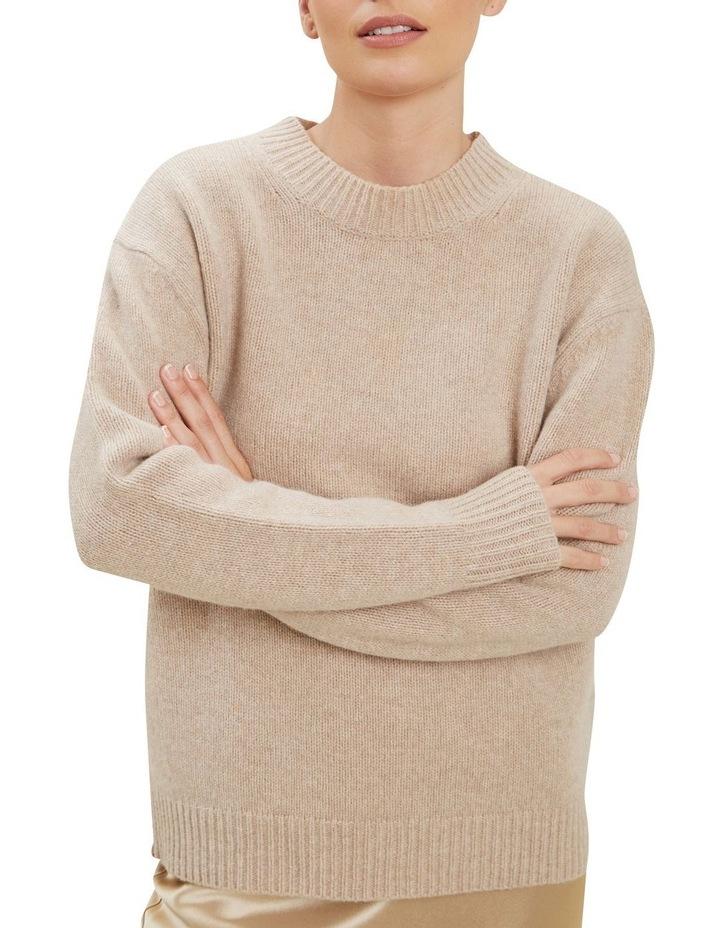 Crew Neck Wool Sweater image 4