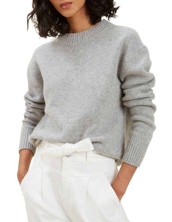 Crew Neck Wool Sweater image 1