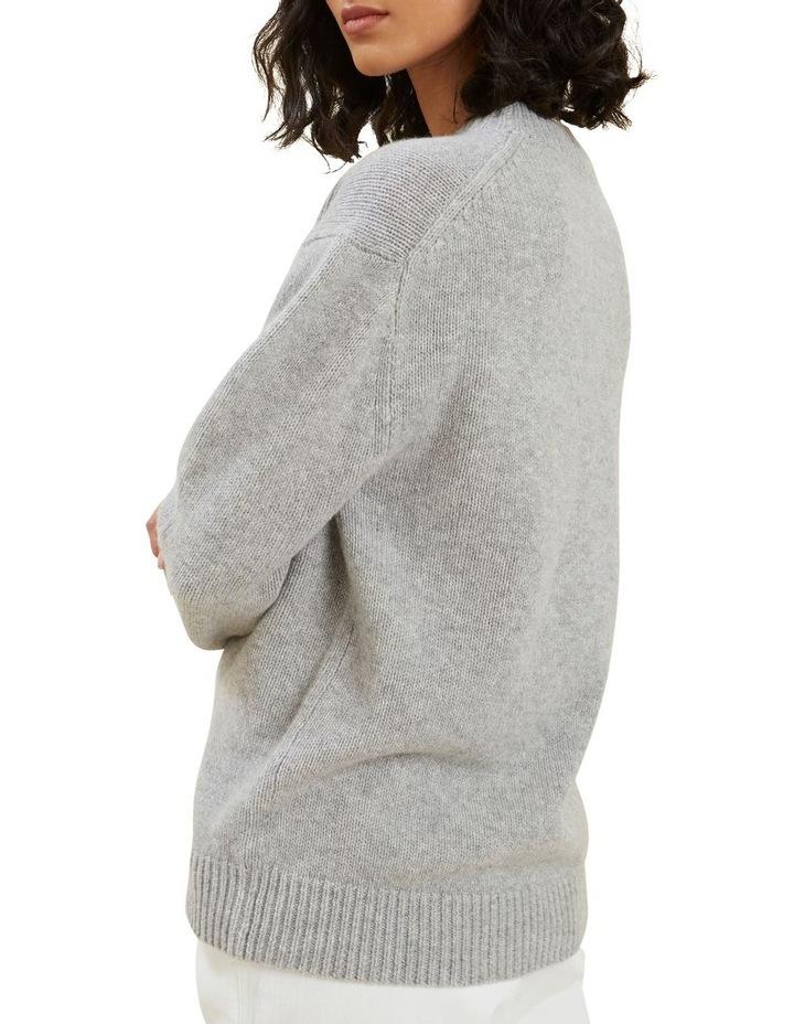 Crew Neck Wool Sweater image 3